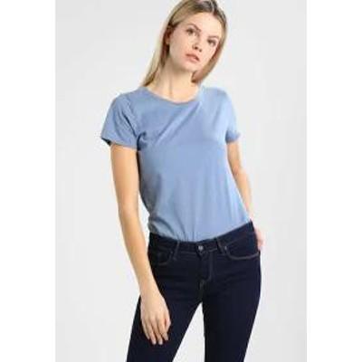 GAP レディーストップス GAP VINT CREW - Basic T-shirt - classic china blu