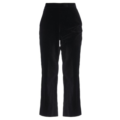 MALÌPARMI パンツ ブラック 40 コットン 99% / 伸縮繊維 1% パンツ