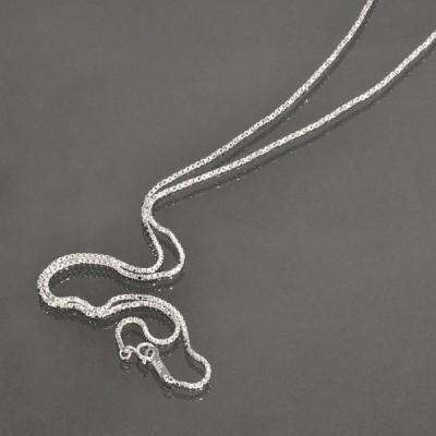 ネックレス チェーン シルバー925 ベネチアンツイストチェーン 幅1.25mm 長さ38cm|鎖 銀 Silver アクセサリー レディース メンズ