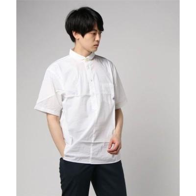 シャツ ブラウス 2WAYプルオーバー半袖シャツ