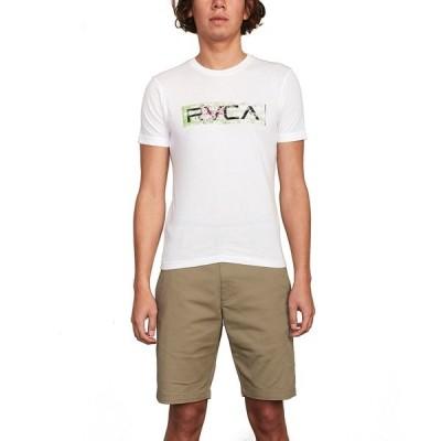 """ルーカ カジュアルパンツ ボトムス メンズ Men's Rvca Men's Weekend Stretch 20"""" Short Dark Khaki"""