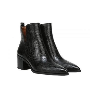Franco Sarto フランコサルト レディース 女性用 シューズ 靴 ブーツ アンクル ショートブーツ Darona - Black