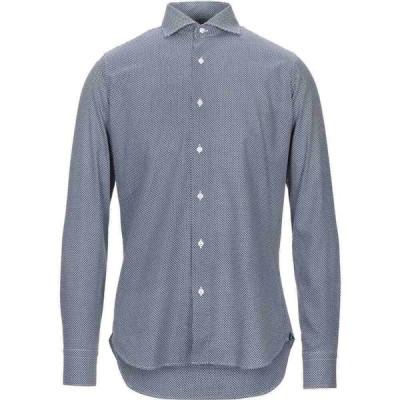 アレア ALEA メンズ シャツ トップス Patterned Shirt Dark blue