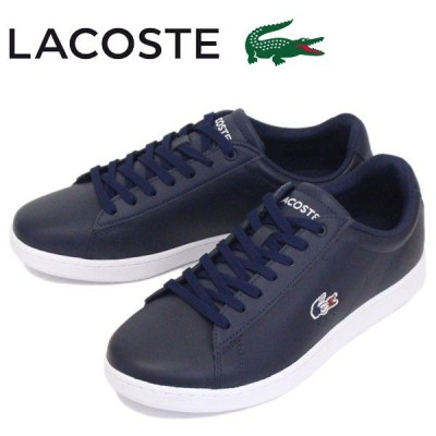 LACOSTE (ラコステ) SMA0013 CARNABY EVO 119 7 メンズスニーカー 7A2-NVY/WHT/RED LC150
