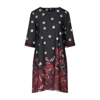 インペリアル IMPERIAL ミニワンピース&ドレス ブラック L ポリエステル 100% ミニワンピース&ドレス