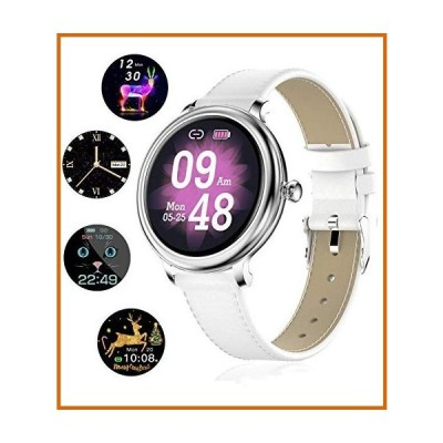 送料無料 Smart Watch for Women, IP68 Waterproof Smartwatch Fitness Tracker Compatible with Android iOS Phone, Women Smart Watches with H