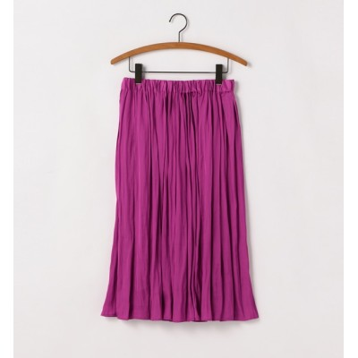 【ソフィット/Soffitto】 シンプルギャザースカート