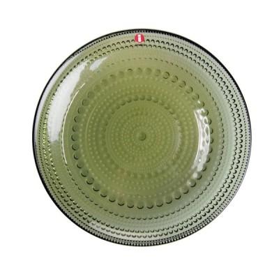 イッタラ カステヘルミ プレート 17cm モスグリーン