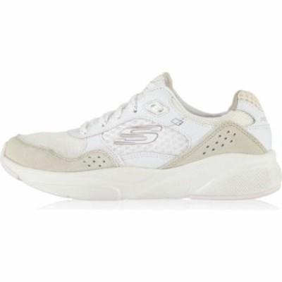 スケッチャーズ Skechers レディース スニーカー シューズ・靴 Meridian Trainers White