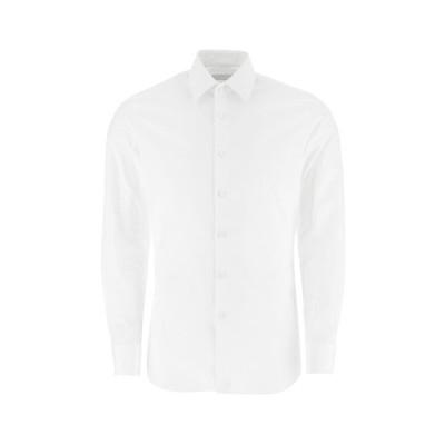プラダ メンズ シャツ トップス Prada Poplin Shirt -