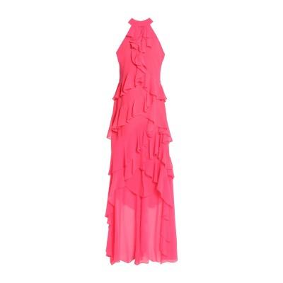 BADGLEY MISCHKA ロングワンピース&ドレス フューシャ 2 ポリエステル 100% ロングワンピース&ドレス
