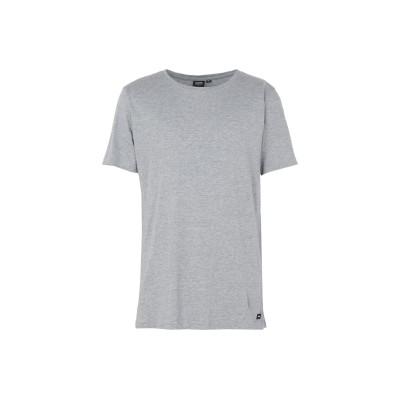 DR. DENIM JEANSMAKERS T シャツ ライトグレー XL オーガニックコットン 100% T シャツ