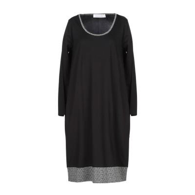 MADEGRÈ ミニワンピース&ドレス ブラック M レーヨン 65% / ナイロン 28% / ポリウレタン 7% ミニワンピース&ドレス