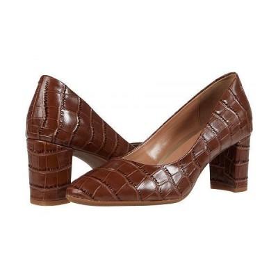 Aerosoles エアロソールズ レディース 女性用 シューズ 靴 ヒール Bette - Cognac Croco