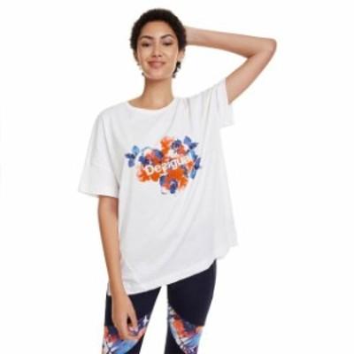 desigual デシグアル ファッション 女性用ウェア Tシャツ desigual camo-flower