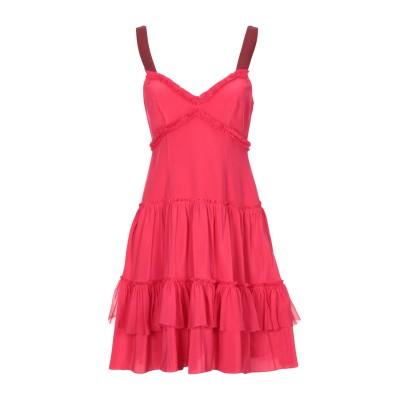 CINQ À SEPT ミニワンピース&ドレス フューシャ 12 シルク 100% ミニワンピース&ドレス