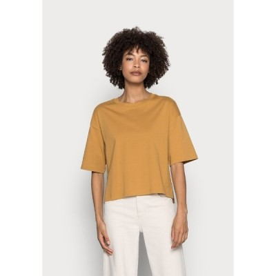 マルコポーロ Tシャツ レディース トップス Basic T-shirt - sweet corn