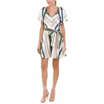 Parker パーカー ファッション ドレス Parker Adeline A-Line Dress 8 White