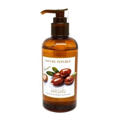 ネイチャーリパブリック(Nature Republic)アルガンエッセンシャルディープケアシャンプー300ml / Argan Essential Deep Care Shampoo 300ml