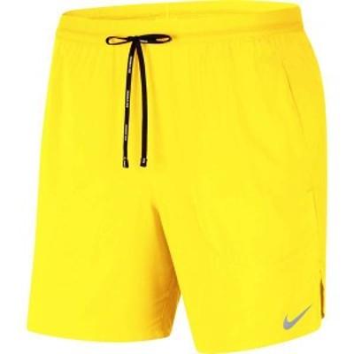 ナイキ メンズ ハーフパンツ・ショーツ ボトムス Nike Men's Flex Stride 7'' 2-in-1 Running Shorts Opti Yellow