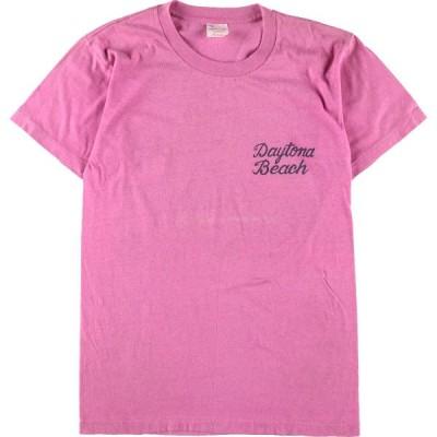 80年代 sportswear プリントTシャツ USA製 レディースM ヴィンテージ /eaa155748