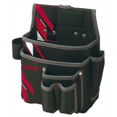 PROSTAR プロスター NewPoly ニューポリ (XPS)WPS-21RD 釘袋 工具差付 カラー:レッド