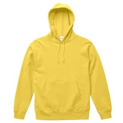 パーカー トレーナー メンズ レディース スウェット 黄色 イエロー 裏毛 s m l xl xxl 2l 3l 無地 フード プルオーバー 部屋着 綿 ユナイテッドアスレ ポケット