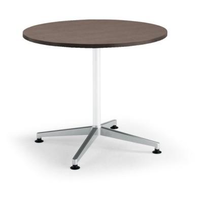 コクヨ品番 MT-JTJE9PMG5 会議テーブル JUTO 円形天板 単柱ポリッシュアジャスター W900xD900xH720 ジュート