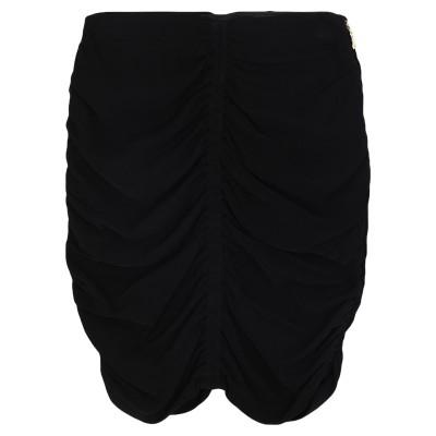パトリツィア ペペ PATRIZIA PEPE ミニスカート ブラック 40 レーヨン 95% / ポリウレタン 5% ミニスカート