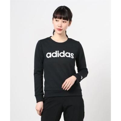 スウェット エッセンシャルズ ロゴ スウェット [Essentials Logo Sweatshirt] アディダス