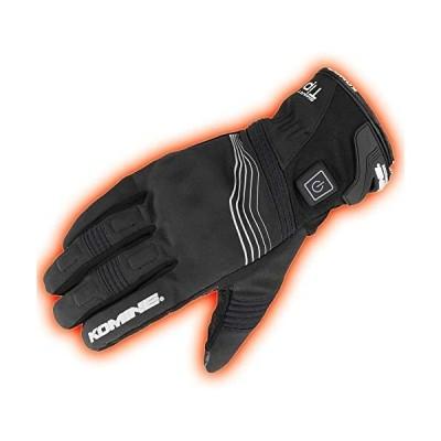 コミネ KOMINE バイク プロテクトエレクトリックグローブショート12V 手袋 電熱 発熱 防寒 Black/M 08-202