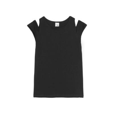 IRIS & INK Tシャツ ファッション  レディースファッション  トップス  Tシャツ、カットソー  半袖 ブラック