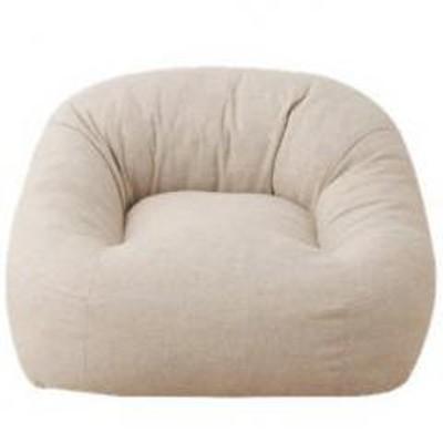 EMOOR(エムール)送料無料 一人掛けソファ 省スペースサイズ ベージュ 座椅子 マフィー 日本製 シンプル ワンルーム フロアライフ フロアソファ 北欧 テレワーク 在宅 在宅勤務 巣ごもり