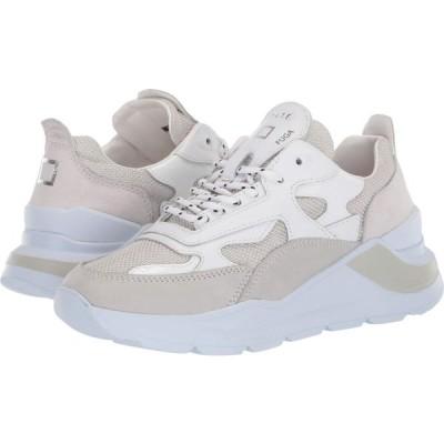 デイト D.A.T.E. レディース スニーカー シューズ・靴 Fuga White Lurex