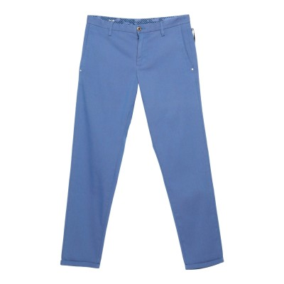 アティピコ AT.P.CO パンツ ブルー 52 コットン 99% / ポリウレタン 1% パンツ