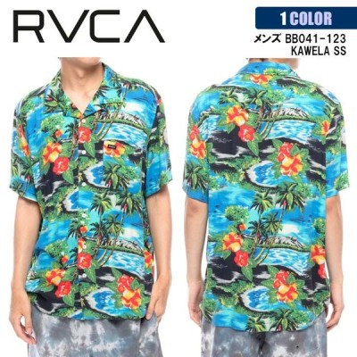 21 RVCA ルーカ 半袖シャツ KAWELA SS ショートスリーブシャツ メンズ 2021年春夏 品番 BB041-123 日本正規品