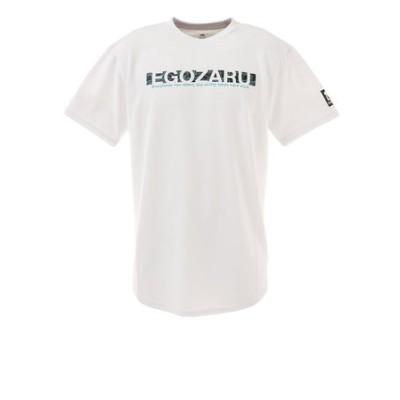 エゴザル(EGOZARU)バスケットボールウェア BOX LOGO FISSURE Tシャツ EZST-2116-025