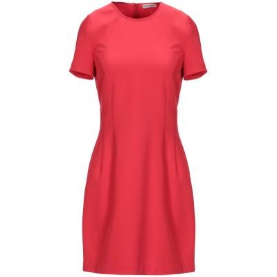 RUE•8ISQUIT ミニワンピース&ドレス レッド 44 ポリエステル 89% / ポリウレタン 11% ミニワンピース&ドレス