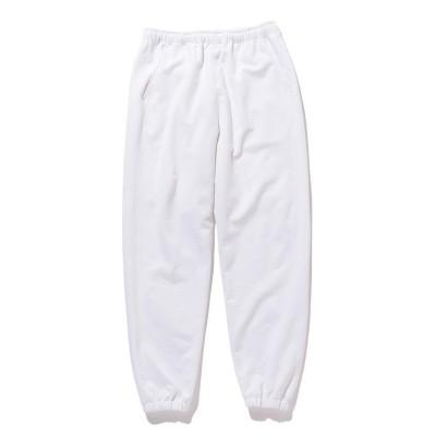 (BEAMS MEN/ビームス メン)BEAMS / ストレッチ 裏毛 スウェット パンツ/メンズ WHITE