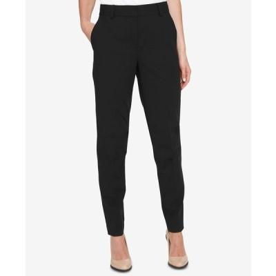 ダナ キャラン ニューヨーク カジュアルパンツ ボトムス レディース Petite Essex Pants Black