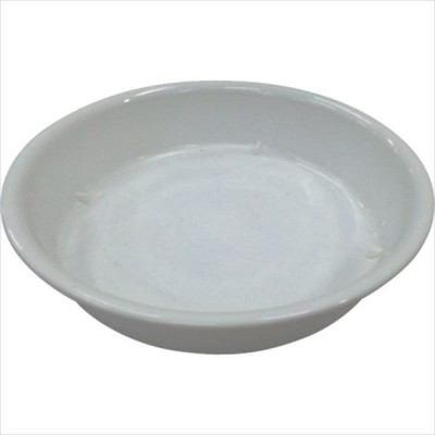 IRIS 157410 鉢受皿中深型 ホワイト 7号 (HUMD-7-W)