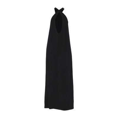 リビアナ コンティ LIVIANA CONTI ロングワンピース&ドレス ブラック 40 レーヨン 80% / ナイロン 20% ロングワンピース&