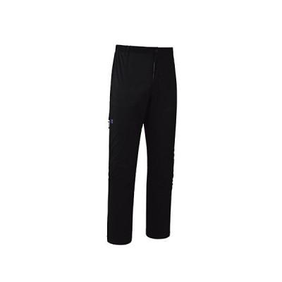 ファイントラック Men's エバーブレスフォトンパンツショート(収納袋付) / カラー:BK サイズ:L (メンズ/パンツ レインウェア 雨具) F