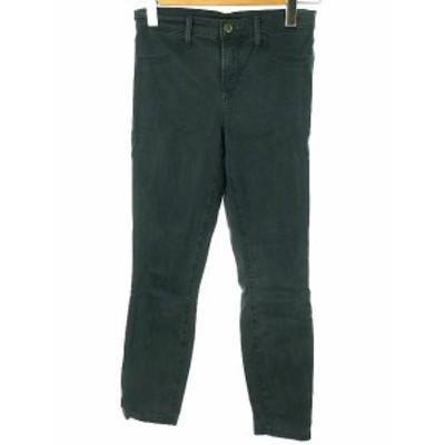 【中古】セオリー theory J BRAND スキニー パンツ 26 グリーン系 レギパン パギンス ボトムス レディース