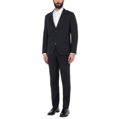 BRERAS Milano スーツ ブラック 44 バージンウール 100% スーツ