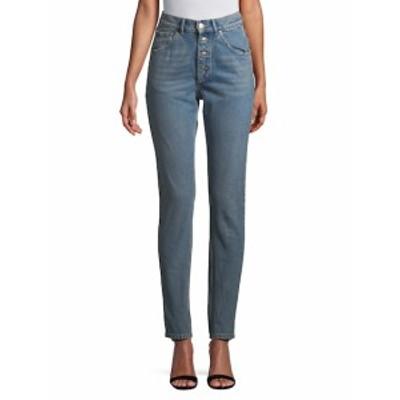 バレンシアガ レディース パンツ デニム High-Waist Skinny Jeans