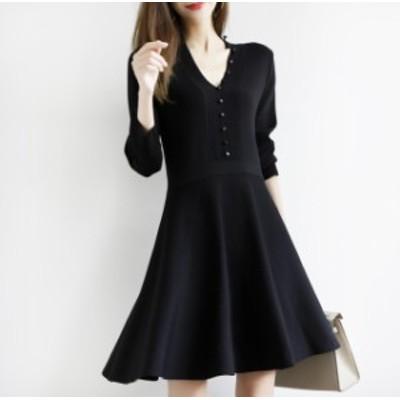 ドレス ワンピース スカート シンプル  長袖 入学式 入園式 フォーマル
