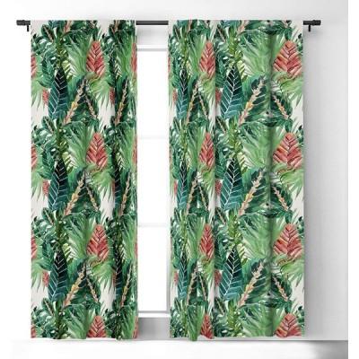 Deny Designs 71071-bowc05 Gale Switzer Havana Jungle Blackout Curtains