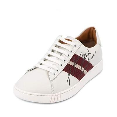 バリー スニーカー 6226117 メンズ ローカット ストライプ 靴 シューズ WHITE size5.5 並行輸入品