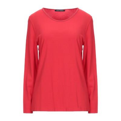 FABER T シャツ レッド 40 レーヨン 96% / ポリウレタン 4% T シャツ